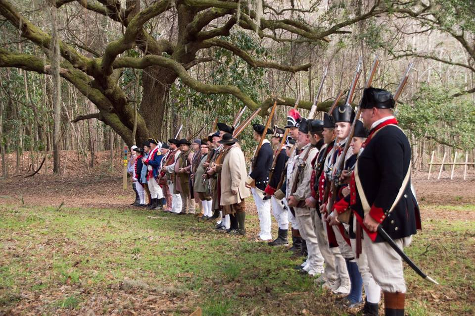 Seige of Charles Town Reenactment @ Mullet Hall Equestrian Center