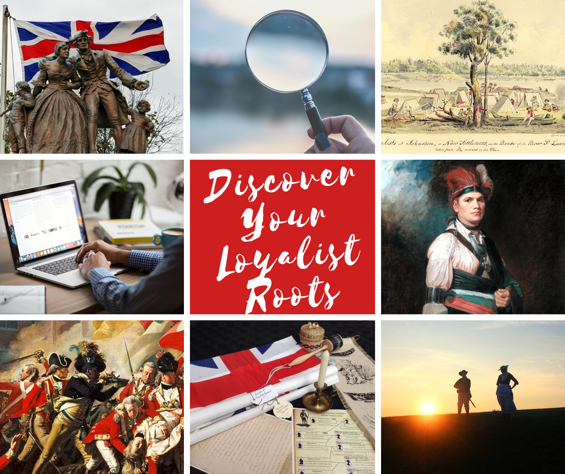 Discover Your Loyalist Roots Map